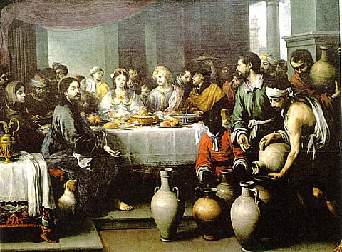 Bartolome Esteban Murillo-The Feast At Cana