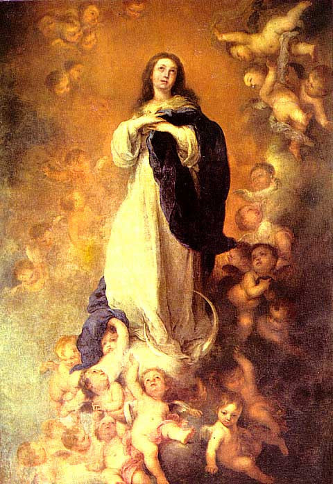 Bartolome Esteban Murillo-The Immaculate Conception