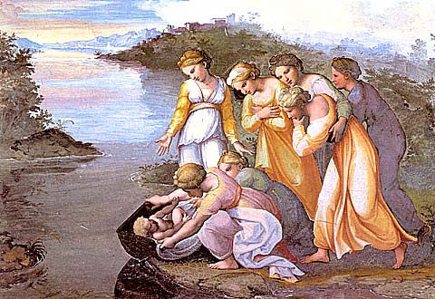 Raphael-The Finding Of Moses