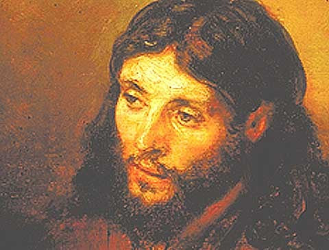 Rembrandt-Head Of Christ