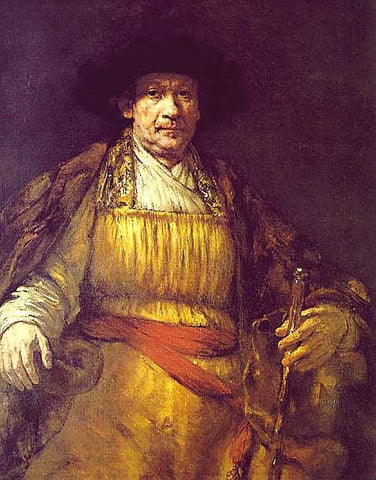Rembrandt-Self Portrait 1658