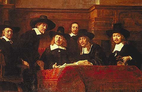 Rembrandt-The Syndics