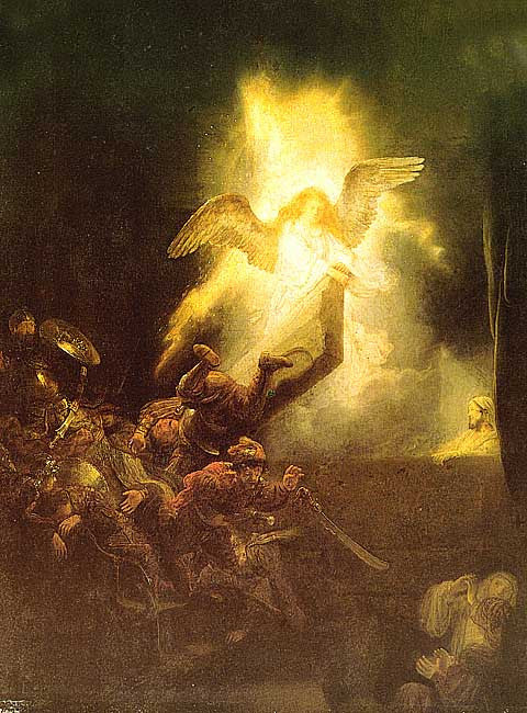 Rembrandt- Resurrection