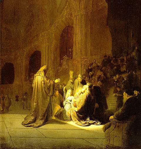 Rembrandt-The Presentation In The Temple