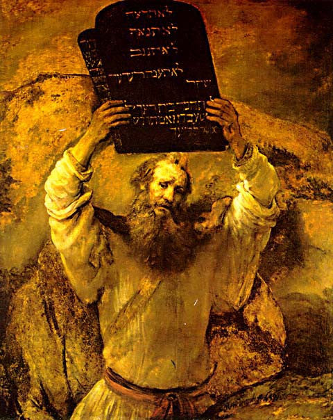 Rembrandt-Moses Breaking The Tables Of The Law