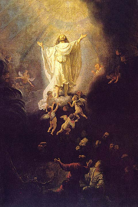 Rembrandt-The Ascension