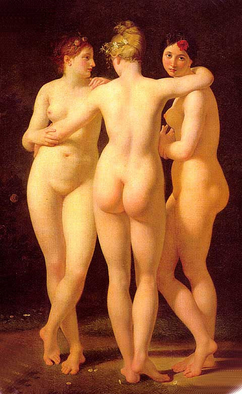 Antoine Renault-The Three Graces
