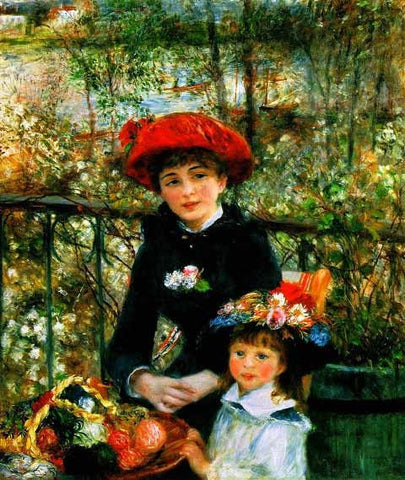 Pierre Auguste Renoir-On the Terrace