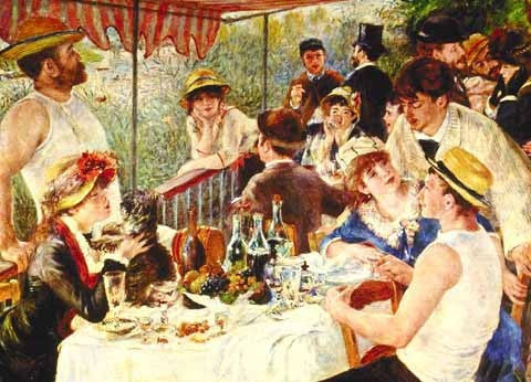 Pierre Auguste Renoir-Luncheon Of The Boating Party