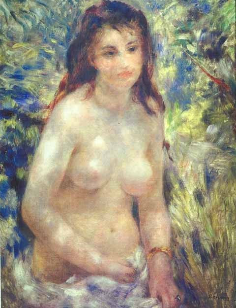 Pierre Auguste Renoir-Sunlight Effect