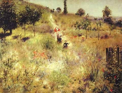 Pierre Auguste Renoir-The High Grass