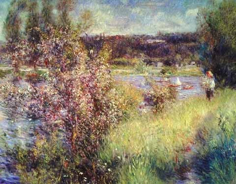 Pierre Auguste Renoir-The Seine