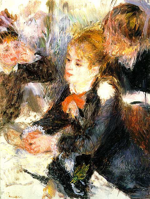 Pierre Auguste Renoir-At The Milliners