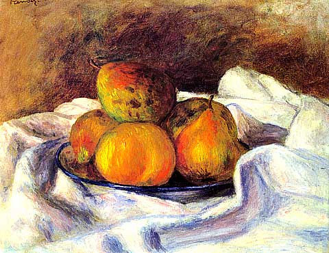 Pierre Auguste Renoir-Apples And Pears