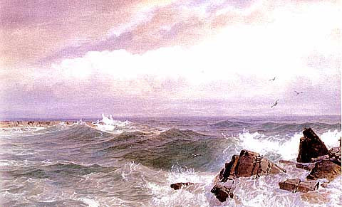 William Trost Richards-Gull Rock Newport