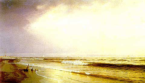 William Trost Richards-Seascape Trost