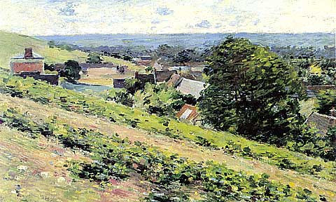 Theodore Robinson-From The Hill