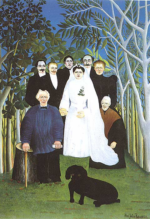 Henri Rousseau-A Country Wedding