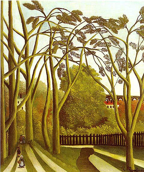 Henri Rousseau-Spring In The Viebre Valley