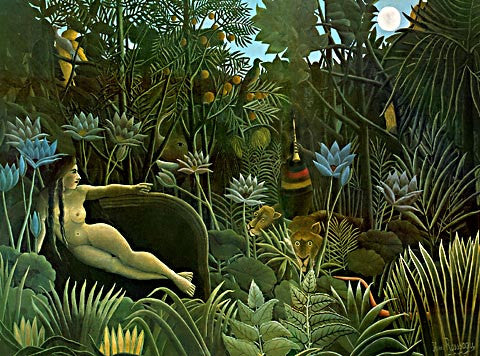 Henri Rousseau-The Dream