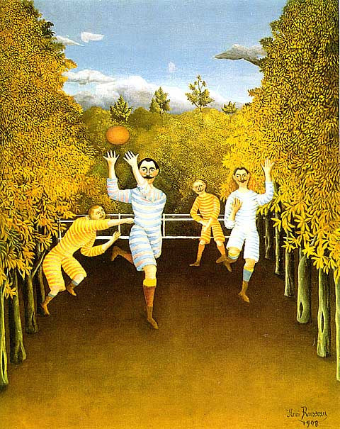Henri Rousseau-The Football Players