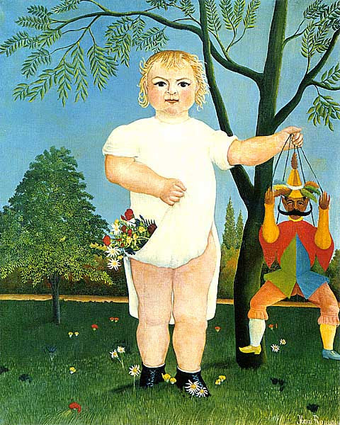 Henri Rousseau-Too Fete Baby