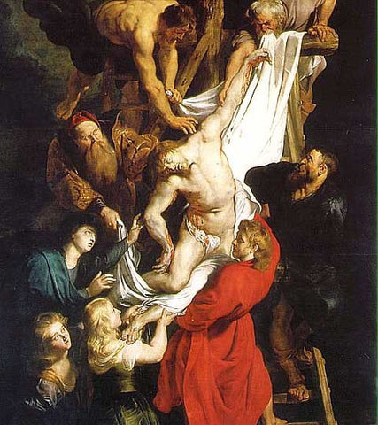 Peter Paul Rubens-The Descent from the Cross