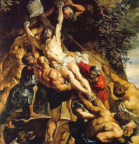 Peter Paul Rubens-The Elevation of the Cross