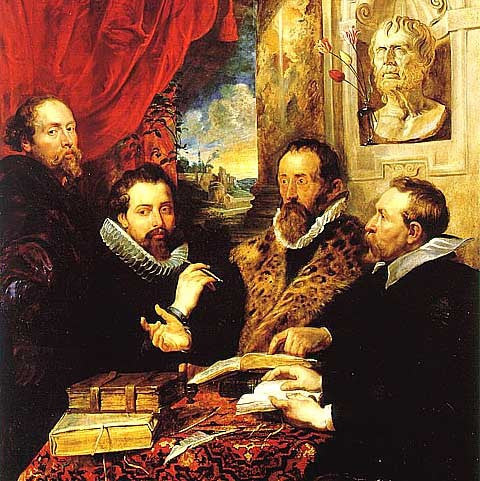 Peter Paul Rubens-The Four Philosophers