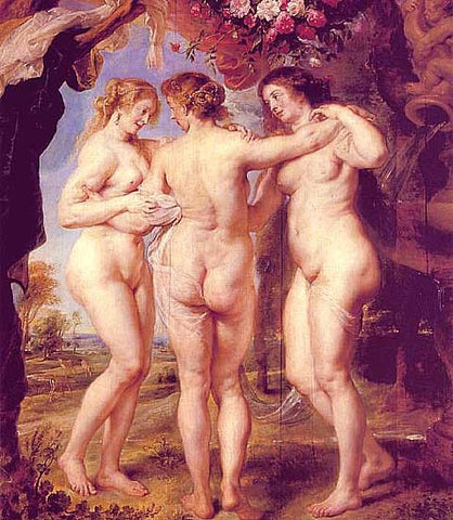Peter Paul Rubens-The Three Graces