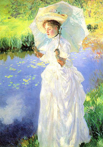 John Singer Sargent- A Morning Walk