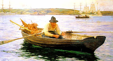 Henry Scott-The Fisherman