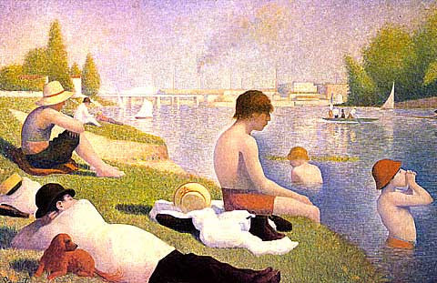 Georges Seurat-Bathers