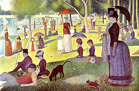 Georges Seurat-Sunday Afternoon