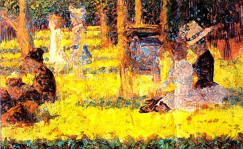 Georges Seurat-Sunday In The Park