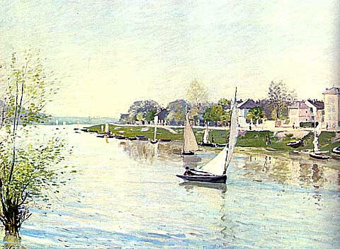 Alfred Sisley-The seine at Argenteuil