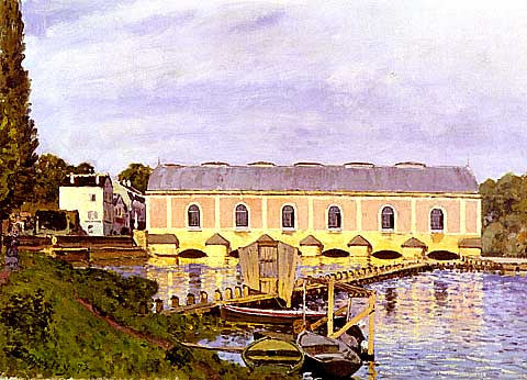 Alfred Sisley-The Machine At Marly