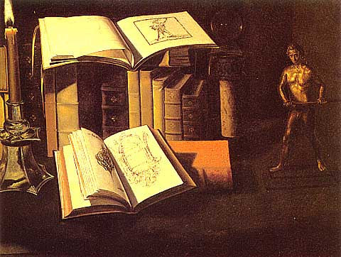 Stoskopff-Still Life With Books