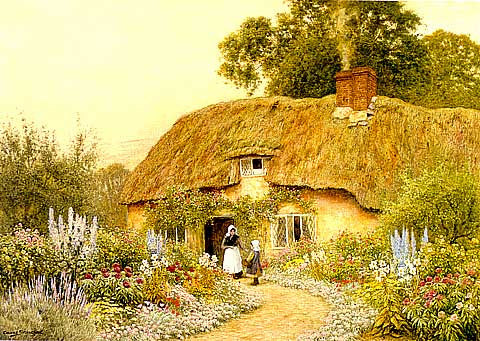 A. C. Strachan-A Devon Cottage