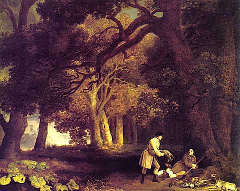 George Stubbs-Hunting In The Forest