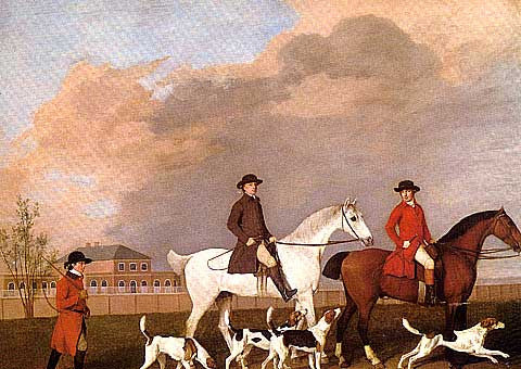 George Stubbs-Riding Out From The Stable