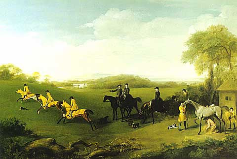 George Stubbs-Watching The Duke