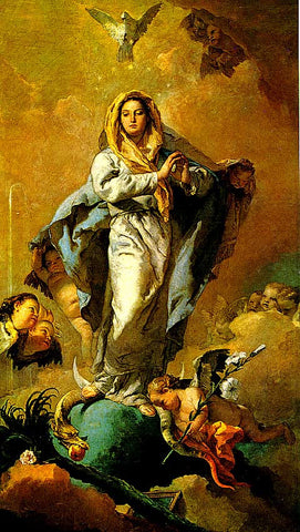 G. Tiepolo-The Immaculate Conception
