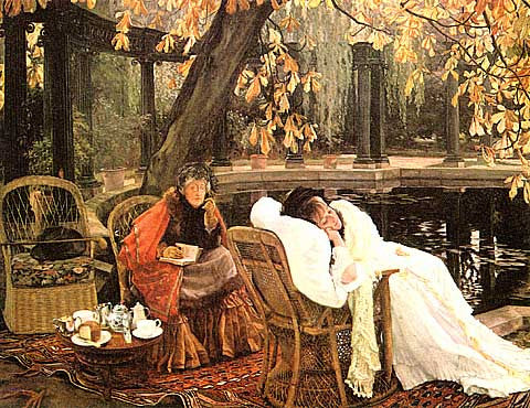 James Tissot-A Convalescent