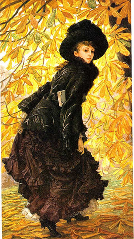 James Tissot-October (Autumn)