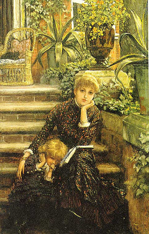 James Tissot-La Soeur Ainee