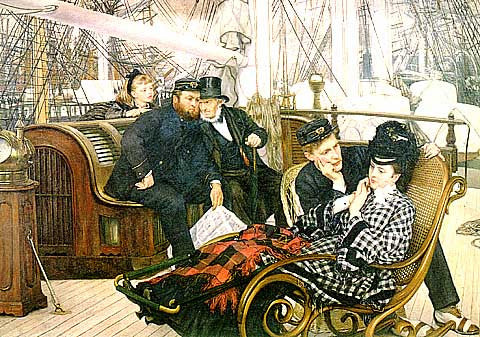 James Tissot-The Last Evening Tissot