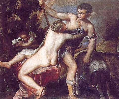 Titian-Venus and Adonis