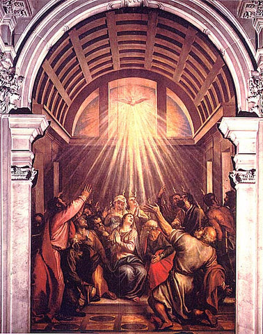 Titian- The Pentecost