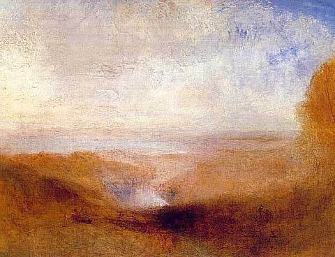 Joseph Mallord William Turner-Landscape with a River and a Bay